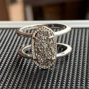 Kendra Scott Elyse Ring Silver
